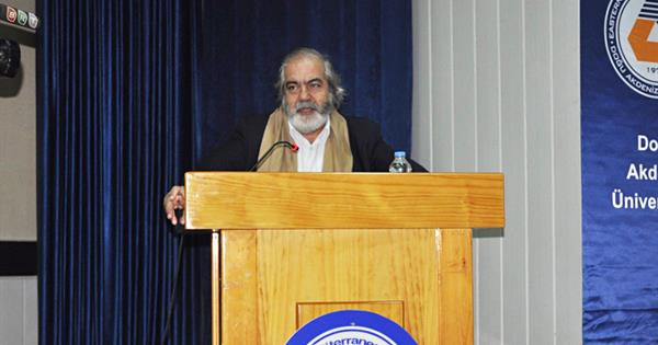 EMU Hosted Famous Economist and Writer Prof. Dr. Mehmet Altan