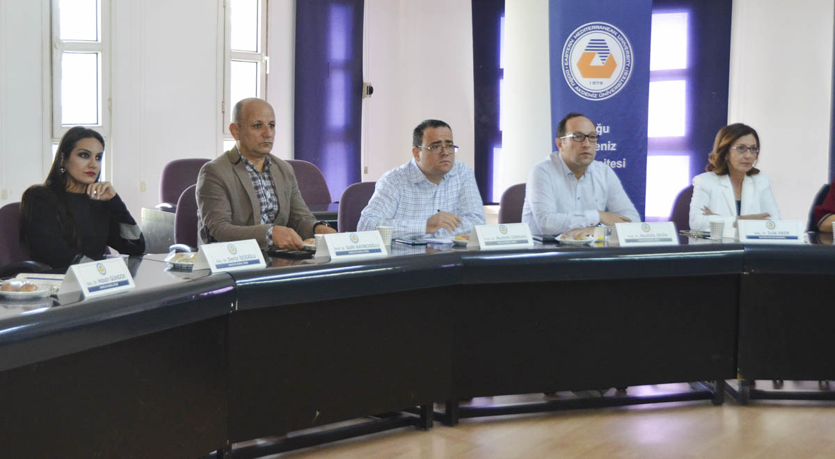 EMU Faculty of Business and Economics Held The First Advisory Board Meeting