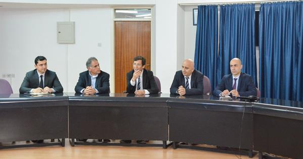 President of the TRNC Central Bank Held an Informative Meeting for EMU Academic Staff