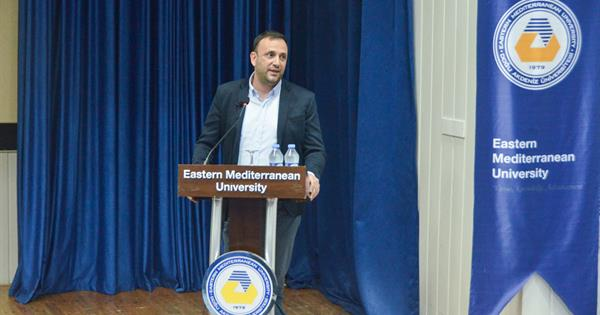 Zeki Çeler Delivered a Talk at EMU